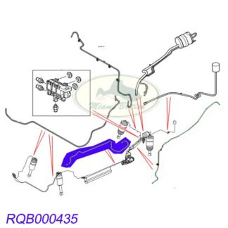 OEM QUALITY  BOX WITH TAIL PIPE FOR ROVER GRR195