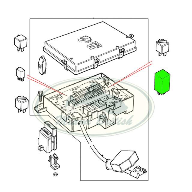 Land Rover Air Suspension Relay Range P38 95