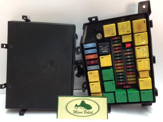 [DIAGRAM_38DE]  LAND ROVER FUSEBOX RELAY FUSE BOX OEM RANGE P38 99-02 YQE103410 USED –  Miami British Corp. | Rover P38 Fuse Box |  | Miami British