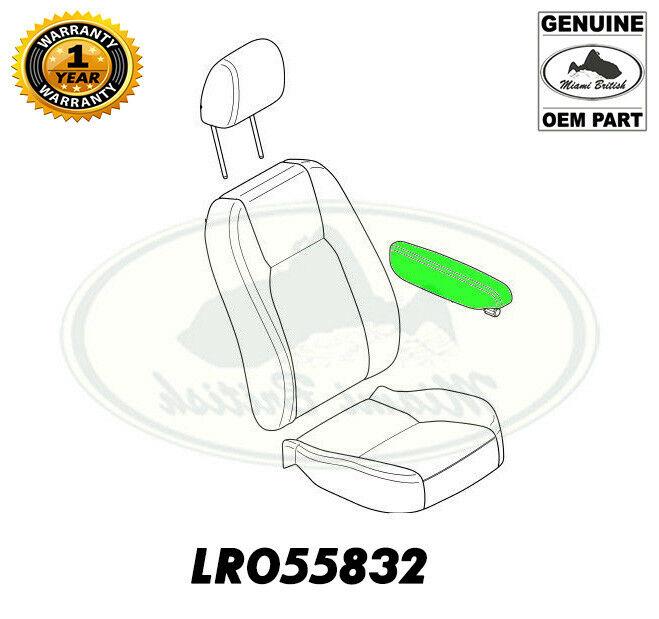 LAND ROVER FRONT SEAT ARMREST LH EBONY BLACK LR4 10-16 LR055735 OEM